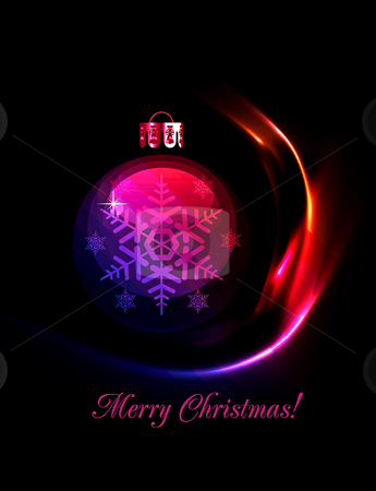 Christmas decoration stylized ball. Vector illustration. EPS10 stock photo, Christmas decoration stylized ball. Vector illustration. EPS10 by sermax55