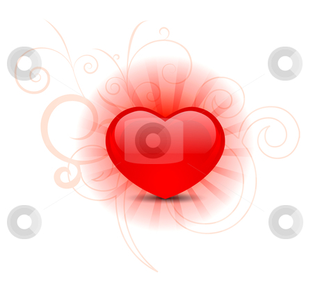 Heart background  stock photo, Heart background  by sermax55