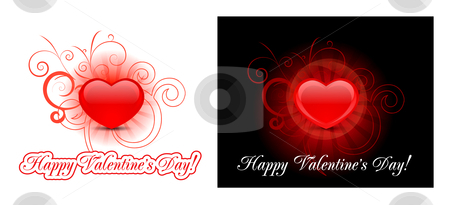Heart background for valentine's day  stock photo, Heart vector background for valentine's day  by sermax55