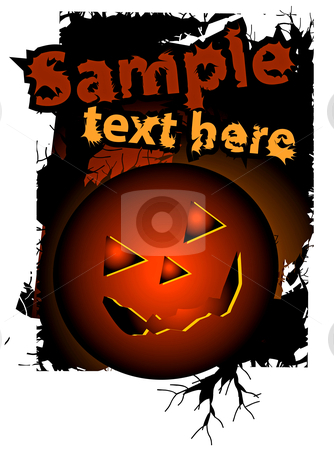 Halloween background, vector illustration stock photo, Halloween background, vector illustration. No transparency and effect. by sermax55