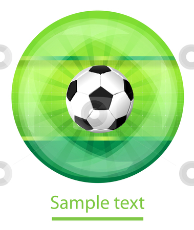 Soccer back stock photo, Soccer background by sermax55