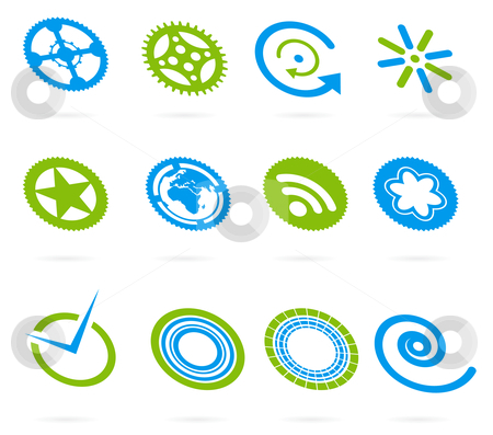 Vector design element set stock photo, vector design element set by sermax55