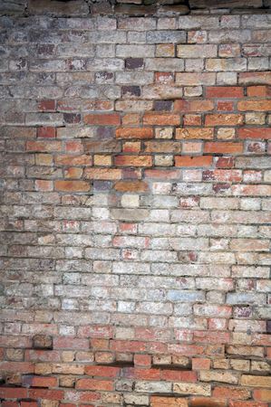 Brick Wall stock photo, Abstract background with old brick wall by Vividrange