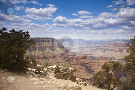 Beautiful Grand Canyon Landscape View stock photo, Beautiful Landscape of the Grand Canyon, Arizona. by Andy Dean