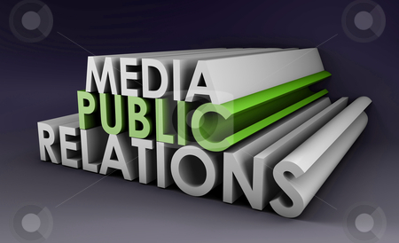 Public Relations stock photo, Public Relations Concept in the PR Industry by Kheng Ho Toh