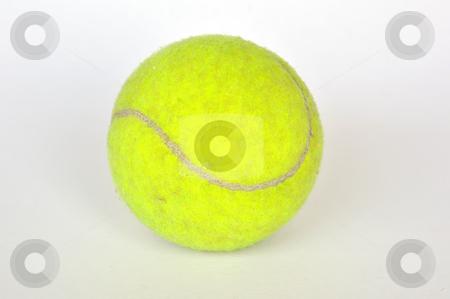 Tennis ball stock photo, Tennis ball by phanlop88
