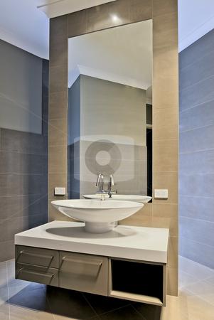 Bathroom stock photo, Modern bathroom design. by thisboy