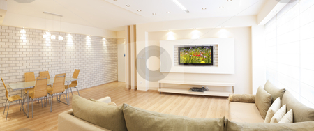 Part of modern furniture stock photo, Luxury living room by Dmitry Pistrov
