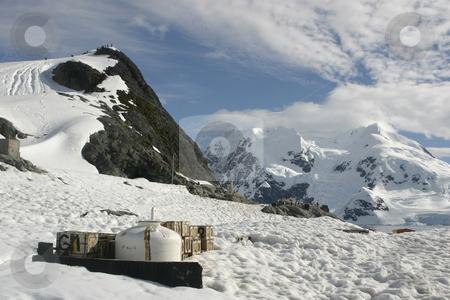 Landscape in Antarctica stock photo, Scenery in Antarctica, the frozen continent by Tomislav Konestabo