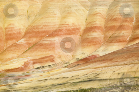 Painted Hills John Day Fossil Beds National Monument, Oregon stock photo, Painted Hills, Oregon, nature stock photography by Bryan Mullennix