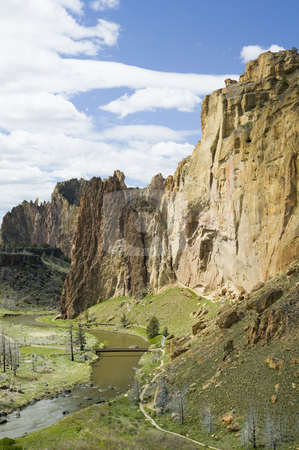Smith Rock State Park in Oregon USA, nature stock photography stock photo, Smith Rocks State Park, Oregon by Bryan Mullennix