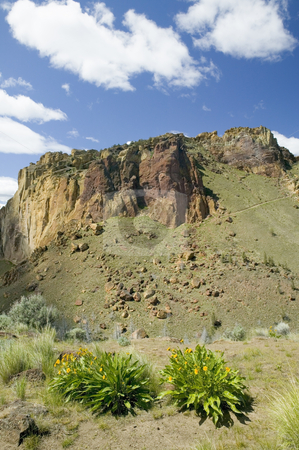 Smith Rock State Park in Oregon USA, nature stock photography stock photo, Smith Rocks State Park by Bryan Mullennix