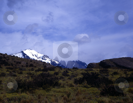 Torres del Paine in Patagonia, Argentina stock photo, Mountains, Torres del Paine in Patagonia, Argentina by Russellimages