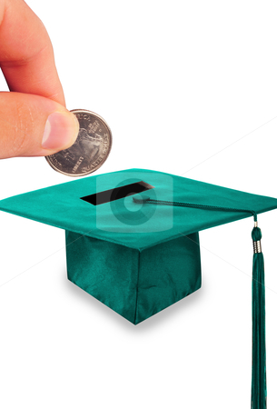 Education stock photo, The cost of education. by WScott