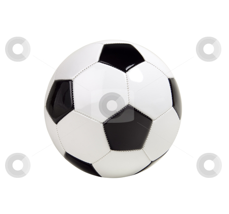 Soccer Ball - Photo Object  stock photo, Soccer Ball, includes clipping path by Bryan Mullennix