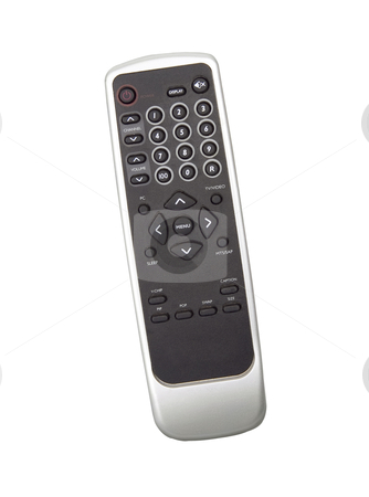 Remote Control - Photo Object stock photo, Television remote control, includes clipping path by Bryan Mullennix