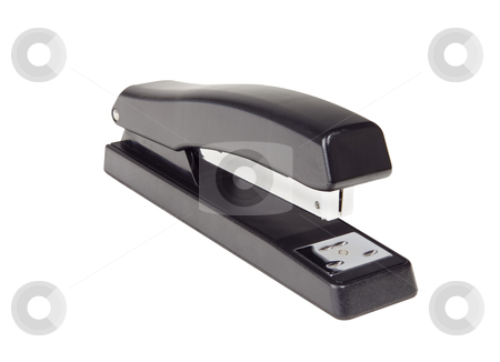 Stapler - Photo Object  stock photo, Black Stapler, with clipping path included by Bryan Mullennix