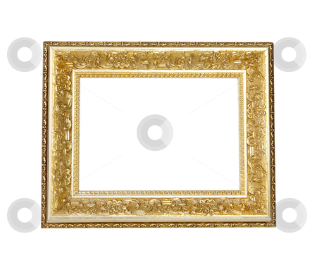 Picture Frame - Photo Object stock photo, Picture frame, includes clipping path by Bryan Mullennix