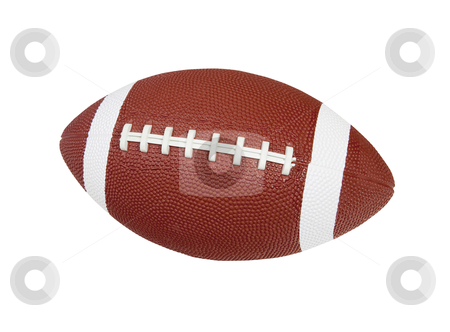 Football - Photo Object  stock photo, Football, includes clipping path by Bryan Mullennix