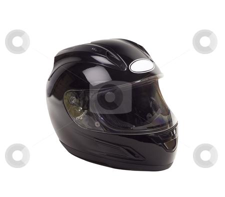 Motorcycle Helmet - Photo Object stock photo, Mototcycle Helmet by Bryan Mullennix