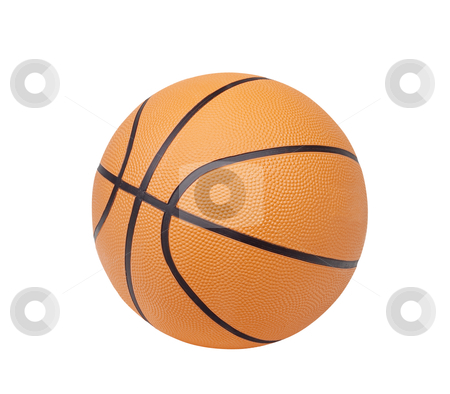 Basketball - Photo Object stock photo, Basketball, includes clipping path by Bryan Mullennix