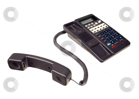 Telephone - Photo Object stock photo, Telephone, includes clipping path by Bryan Mullennix