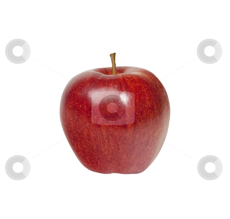Apple - Photo Object stock photo, Red Delicious apple, with clipping path included by Bryan Mullennix