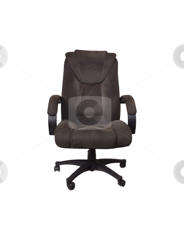 Office Chair - Photo Object stock photo, Office Chair, includes clipping path by Bryan Mullennix