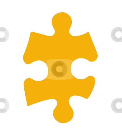 Puzzle Piece - Photo Object stock photo, Puzzle Piece, with clipping path included by Bryan Mullennix