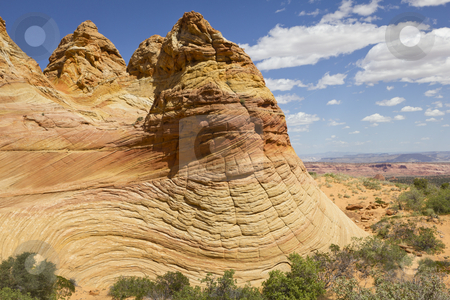 Coyote Buttes stock photo, Colorful sandstone, Coyote Buttes South, Paria Canyon-Vermilion Cliffs Wilderness, Arizona, USA by mdphot