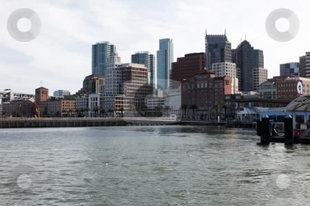 San Francisco stock photo, View of skycrapers from San Francisco Ferry Building by Mariusz Jurgielewicz