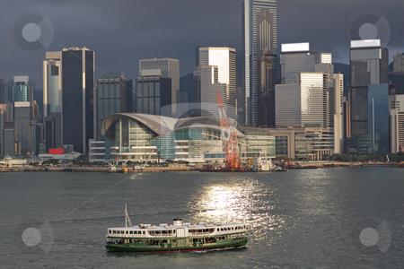 Hong Kong harbour stock photo, Hong Kong harbour by Keng po Leung