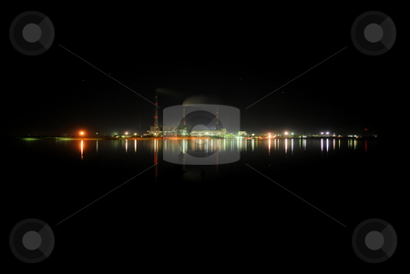 Power station stock photo, Thermal power station  by Pavel Vorobyov
