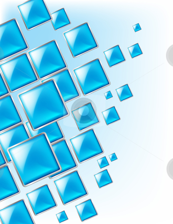Square background stock photo, Square background abstract of techno style. Illustration for design. by dvarg