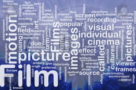 Film picture background concept stock photo, Background concept illustration of film motion picture international by Kheng Guan Toh