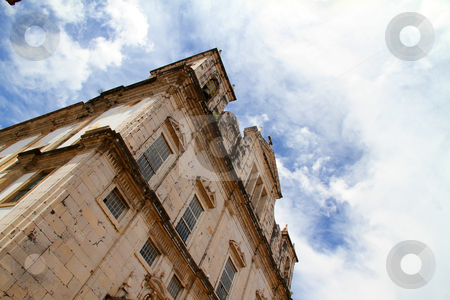 Historic Building in Salvador stock photo, Church in Salvador, Bahia, Brazil, South america. by Michael Osterrieder
