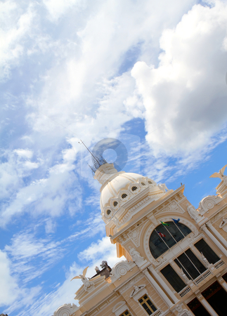 Historic Building in Salvador stock photo, Historic Building in Salvador, Bahia, Brazil, South america. by Michael Osterrieder