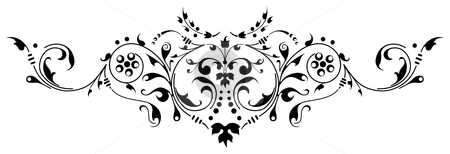 Pattern 09 stock photo, Ornamental design, digital artwork by Vadym Nechyporenko