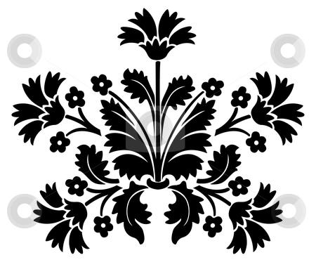 Pattern vector stock photo, Ornamental design, digital artwork by Vadym Nechyporenko
