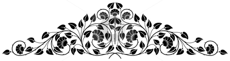 Ornamental design stock photo, Ornamental design, digital artwork by Vadym Nechyporenko