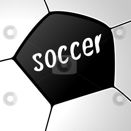 Soccer Ball stock photo, Vector illustration of a soccer ball for your design by Vadym Nechyporenko