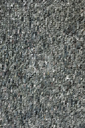 Stone Wall Covering stock photo, Close-up of stone wall covering in dark gray tones. Photos are different shots, not cropped versions of same photo. by selimgoksu