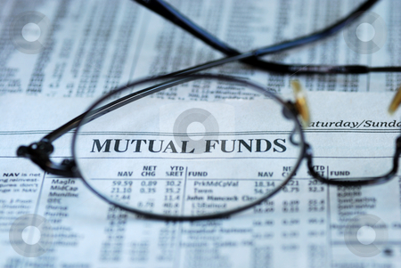 Focus on mutual fund investing stock photo, Focus on mutual fund investing by johnkwan