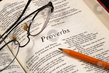 Studying the Bible concepts of the faith to the religion stock photo, Studying the Bible concepts of the faith to the religion by johnkwan