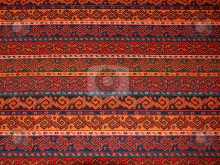 Authentic Textile Pattern stock photo, Close-up of an authentic textile pattern from Ankara, Turkey. by selimgoksu