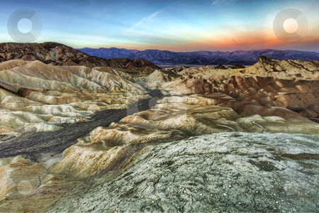 Beautiful Landscape in Death Valley National Park, California stock photo, Landscape in Death Valley National Park, California by Katrina Brown