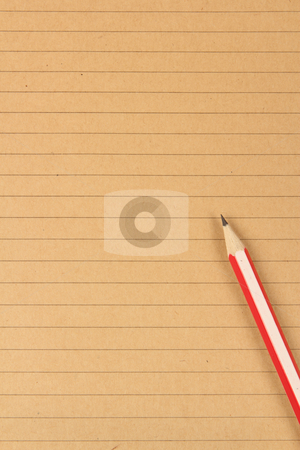 brown writing paper