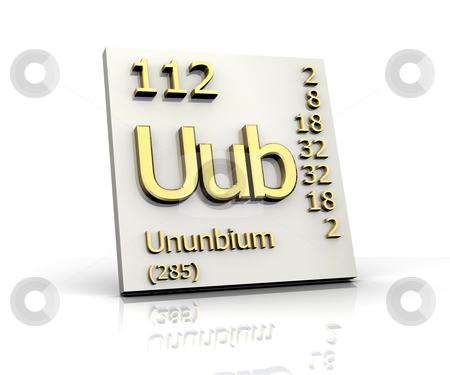 Ununbium periodic table of elements stock photo similar images meitnerium periodic table of elements urtaz Gallery