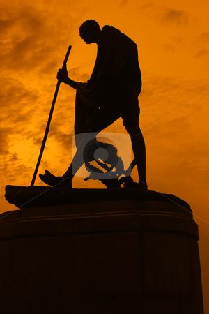 Statue of Mahatma Ghandi  stock photo, Statue of Mahatma Ghandi  by ajithclicks
