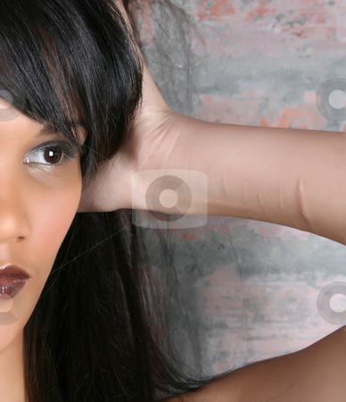 Scarred stock photo, Beautiful young female with scars on her arm by Vanessa Van Rensburg